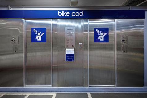 Melbourne má verejné sprchy pre cyklistov
