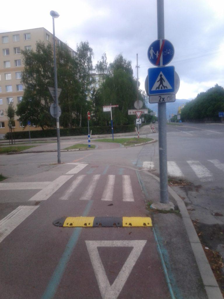 Martinská  RETARDerová cyklistická cestička