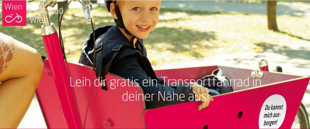 Vo Viedni spustili požičiavanie nákladných cargo bicyklov a zadarmo!