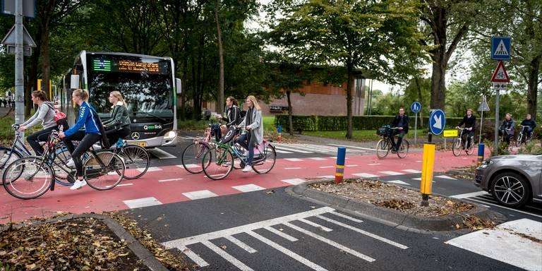 V Groningene vytvorili cyklocestičku s preferenciou pre cyklistov