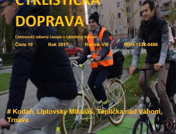Októbrové číslo Cyklistickej dopravy 2017