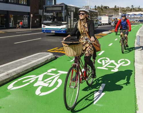 Cyklocestičky z Aucklandu