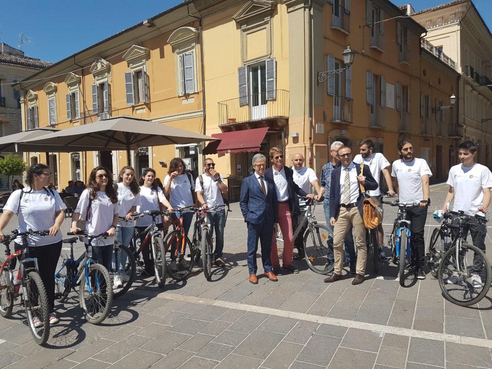 Na univerzite Teramo študentom platia,ak chodia na bicykli