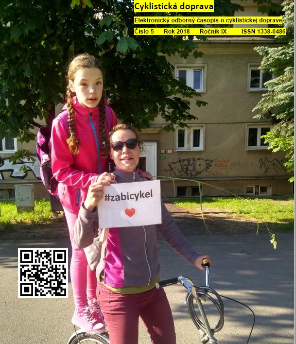 Májové číslo Cyklistickej dopravy 2018