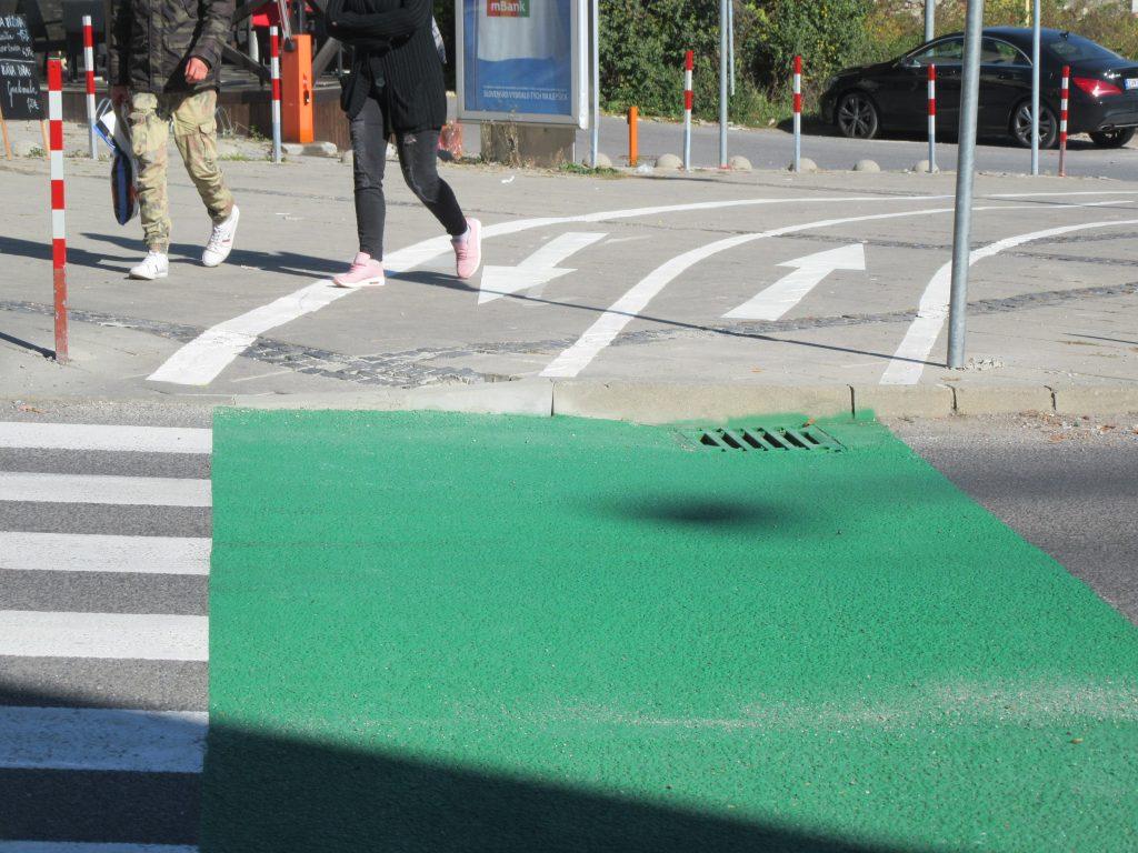 V Banskej Bystrici vzniká nebezpečná cyklistická  komunikácia