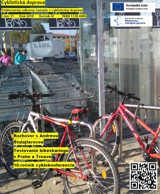 Novembrové číslo Cyklistickej dopravy 2018