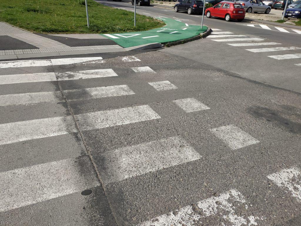 Spoločný chodník pre chodcov a cyklistov v Žiari nad Hronom – 1.časť