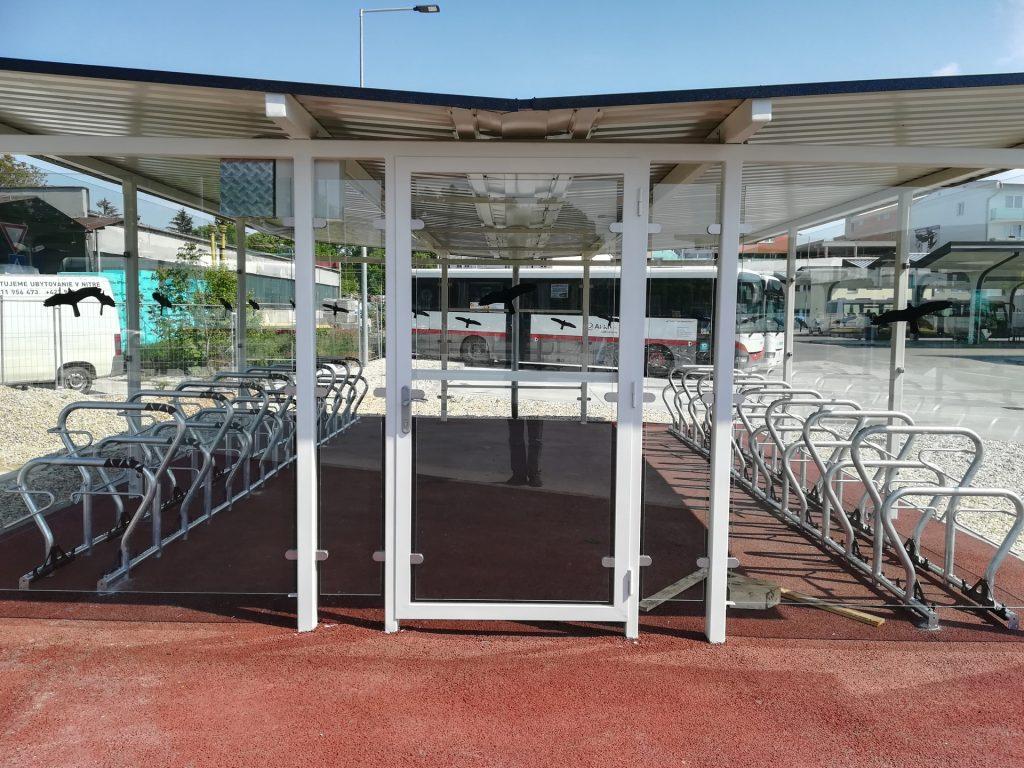Nový cykloprístrešok v Nitre