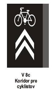 Ministerstvo vnútra chce zrušiť značku Koridor pre cyklistov