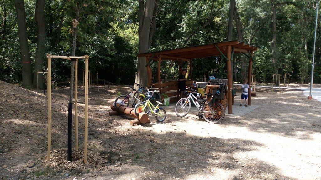 Novú oddychovú zónu v Trnave využijú aj cyklisti