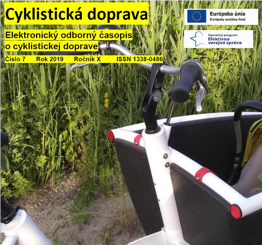 Júlové číslo Cyklistickej dopravy 2019