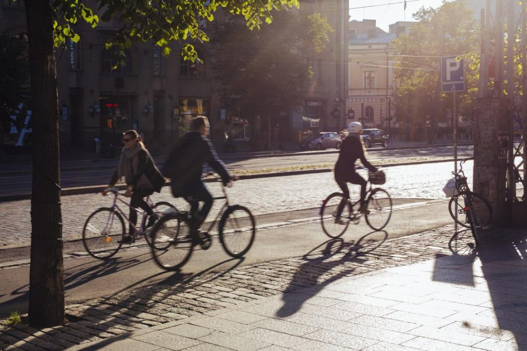 Nová vláda vo Fínsku chce o tretinu viac bicyklovania