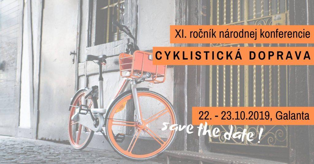 Registrácia na konferenciu Cyklistická doprava 2019 v Galante spustená!