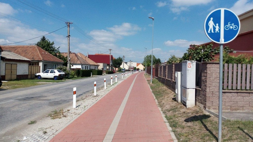 Rozvoj cyklistickej infraštruktúry v Cíferi
