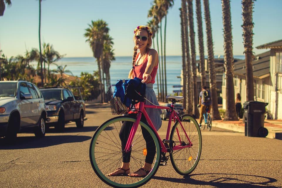 Kam chodíte na výlety na bicykli?