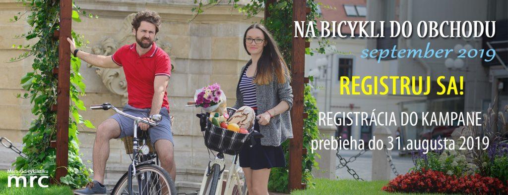 Zapojte sa do kampane Na bicykli do obchodu