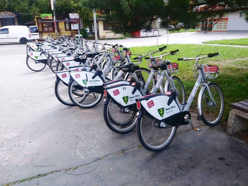 Ako ovplyvnil žilinský bikesharing počty cyklistov v uliciach