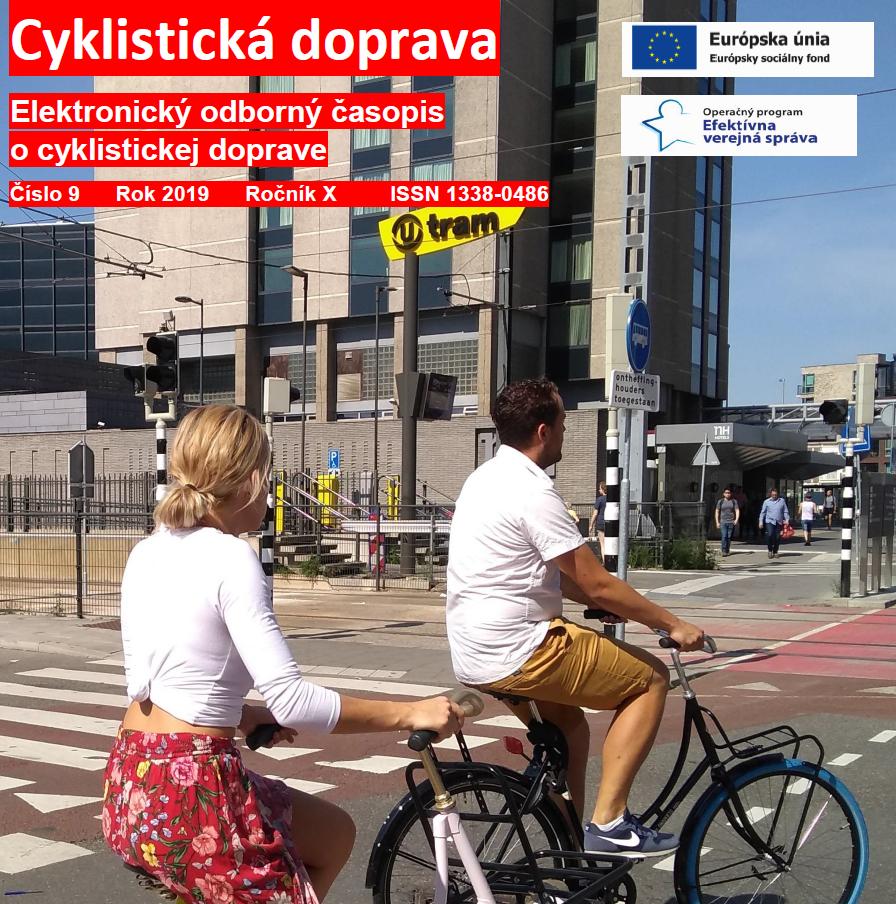 Septembrové číslo Cyklistická doprava 2019