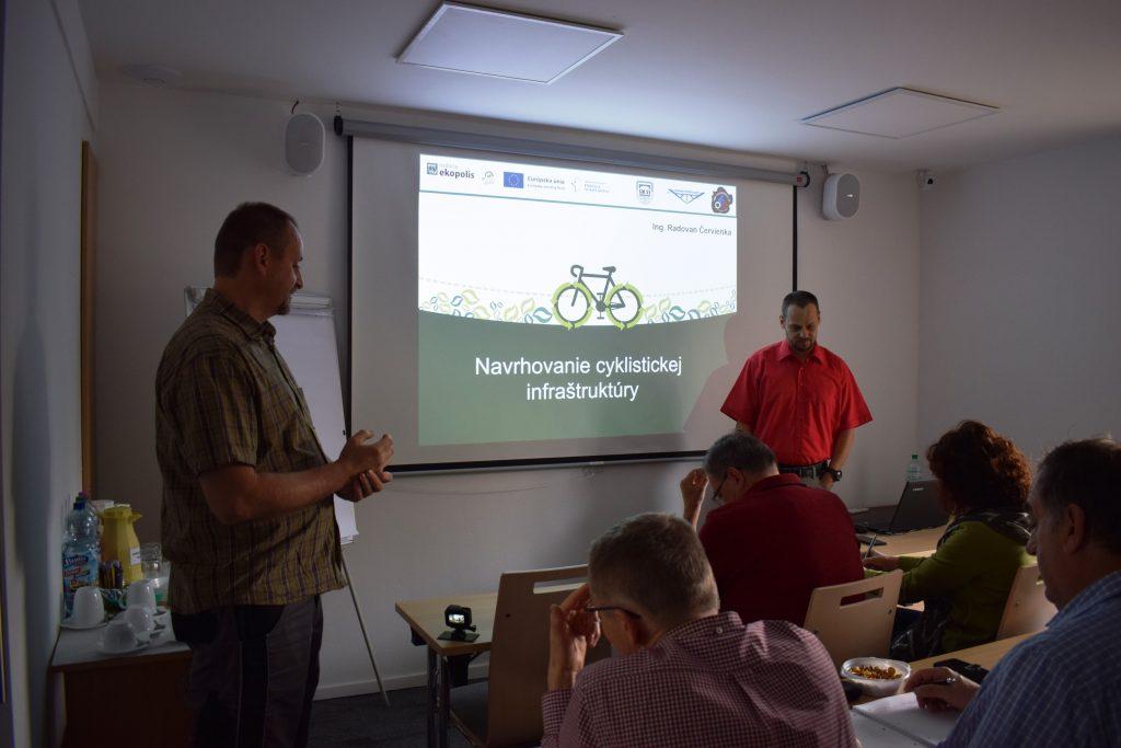 V Banskej Bystrici sa uskutočnil seminár o navrhovaní cyklistickej infraštruktúry