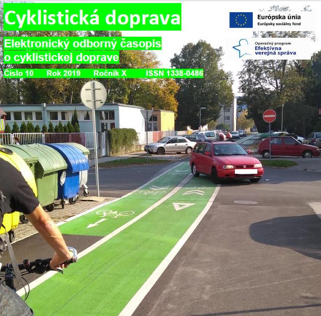 Októbrové číslo Cyklistickej dopravy 2019