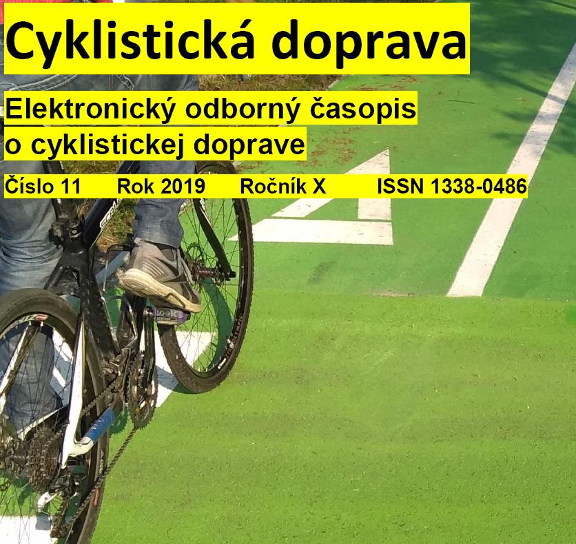 Novembrové číslo Cyklistickej dopravy 2019