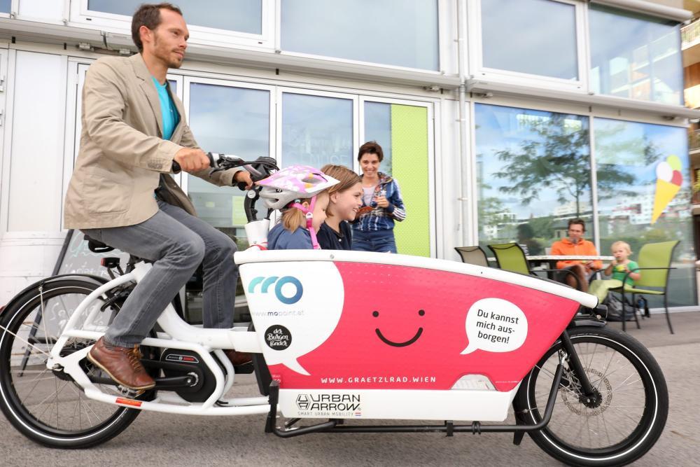 Dotácie na nákladné bicykle vo Viedni