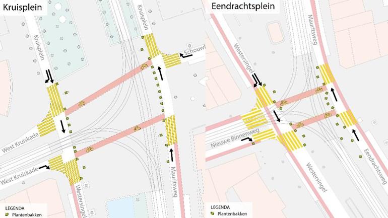 Rotterdam uzatvorí vybrané križovatky do konca augusta pre autá