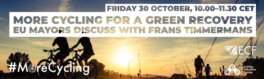 Ako môže cyklistika pomôcť pri Zelenej obnove – online okrúhly stôl s primátormi viacerých miest v EÚ
