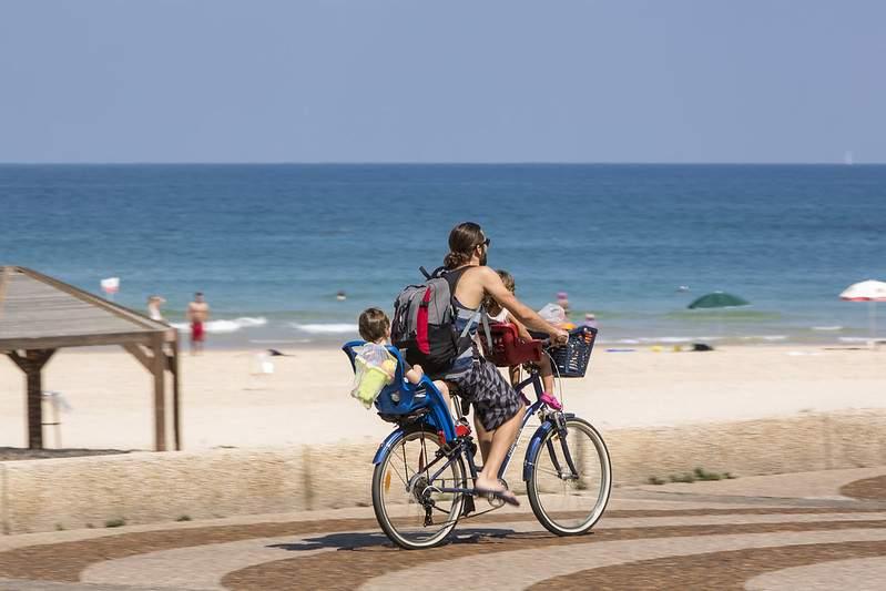 Tel Aviv plánuje zdvojnásobiť cyklosieť do roku 2025