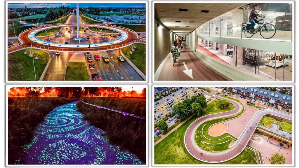 Holandsko investuje približne 510 miliónov EUR ročne do cykloinfraštruktúry
