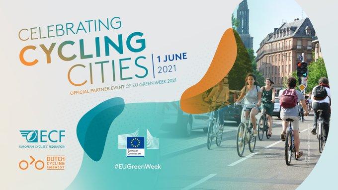 Pozvánka na online konferenciu Celebrating Cycling Cities -1.júna
