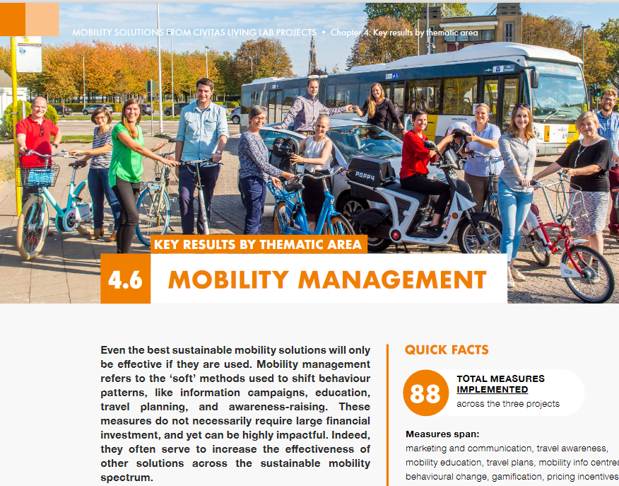 175 riešení pre udržateľnú mobilitu