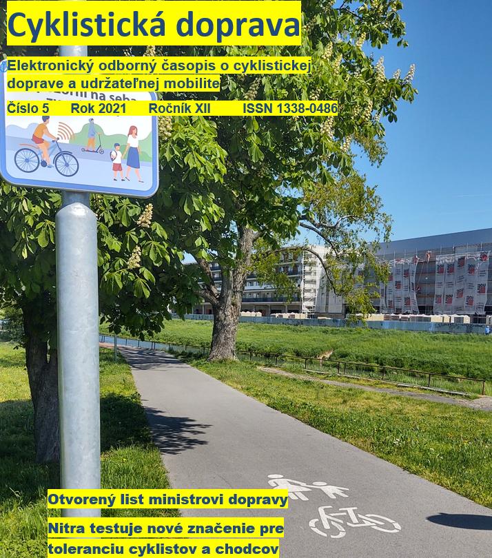 Prečítajte si májové číslo Cyklistickej dopravy