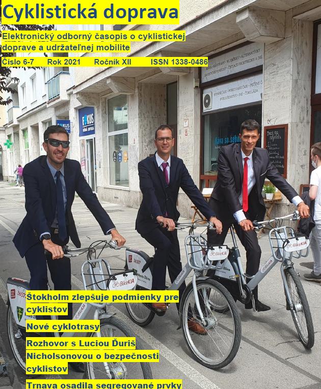 Letné dvojčíslo Cyklistickej dopravy