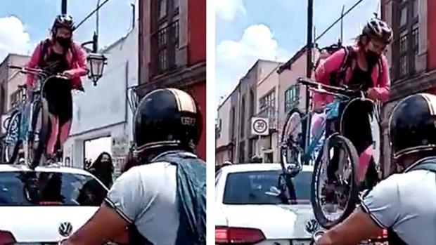 Ako sa jazdí v Mexiku po cyklopruhu