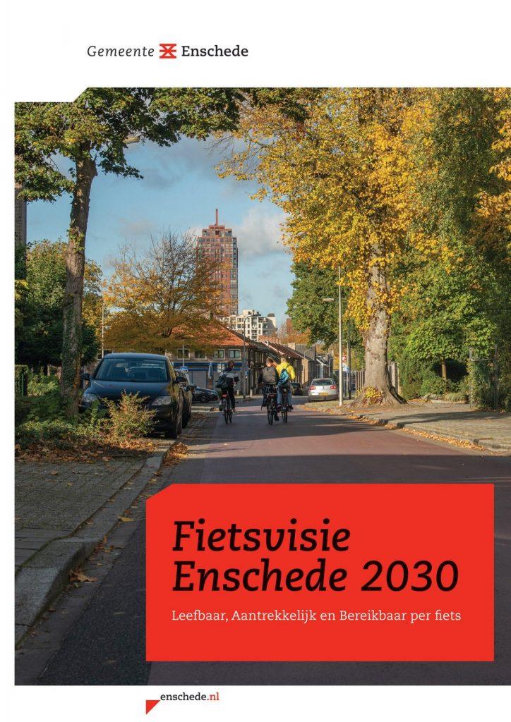 Ešte viac bicyklov, to je vízia mesta Enschede pre rok 2030