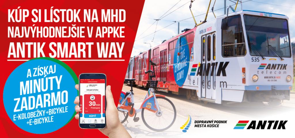 Súčasťou košickej MHD budú aj elektrické kolobežky a verejné bicykle